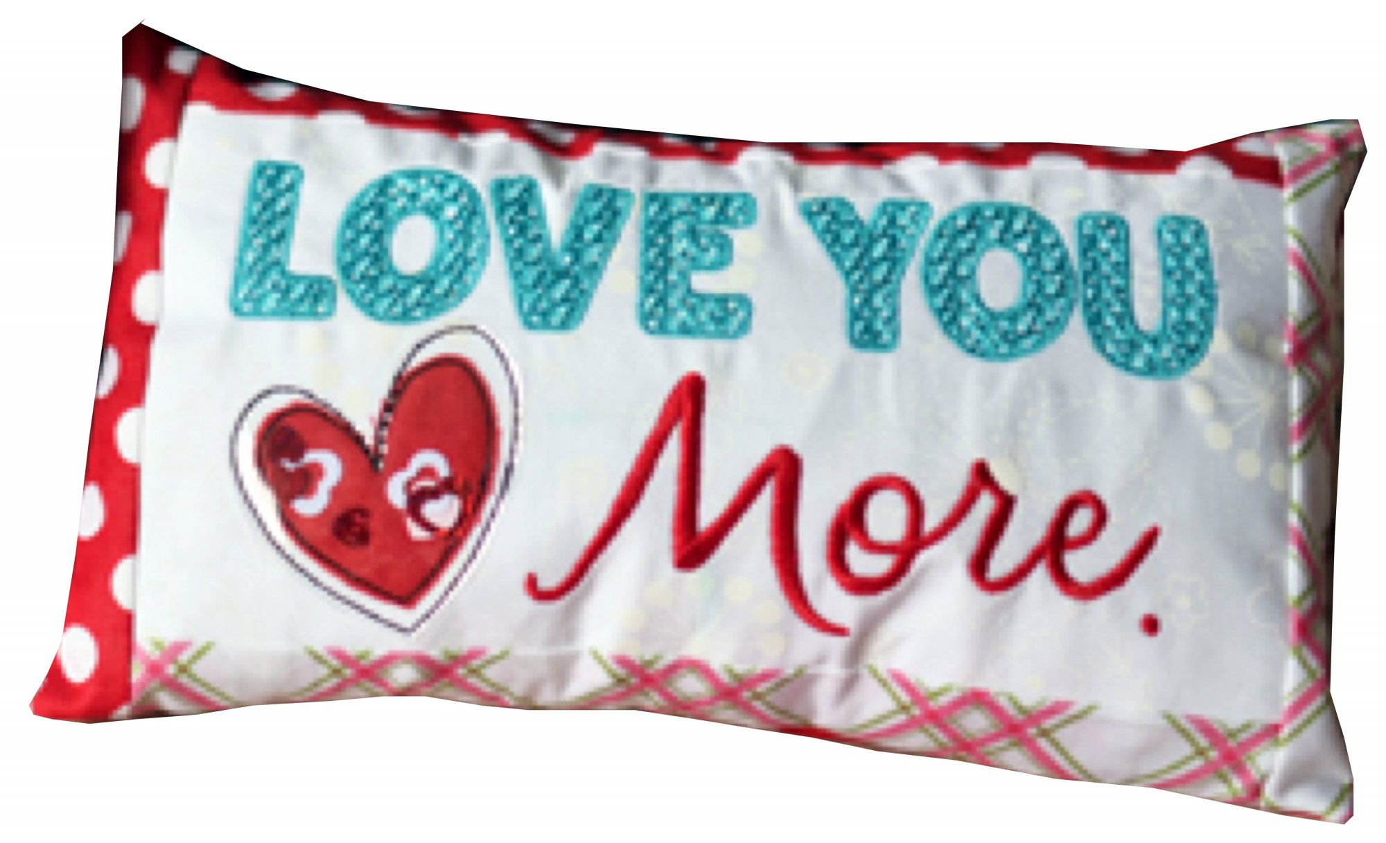 *LOVE YOU MORE BENCH BUDDIES PILLOW FEBRUARY KIT//SIZE 5.5x 9.5//KIMBERBELL