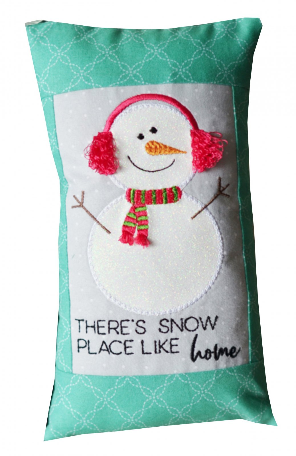 *THERE'S SNOW PLACE LIKE HOME BENCH BUDDIES JANUARY KIT//SIZE 5.5x 9.5//KIMBERBELL