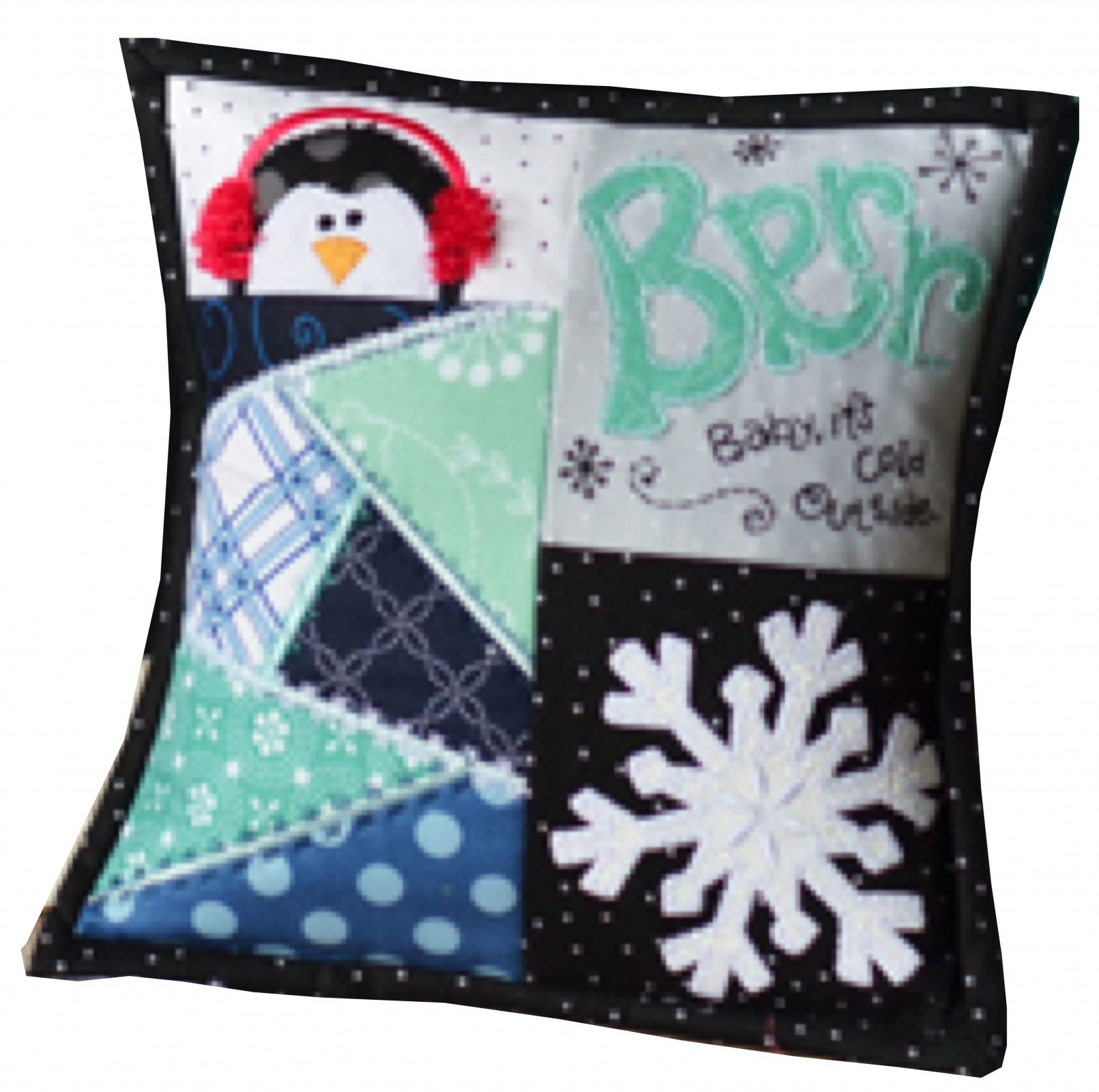 *BABY IT'S COLD OUTSIDE BENCH BUDDIES JANUARY KIT//SIZE 8x 8//KIMBERBELL