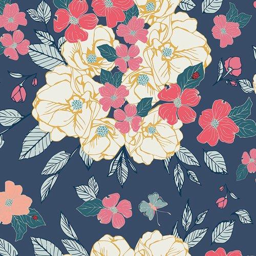 *FLOWER CHILD//FLOWERY CHANT GENTLE//MAUREEN CRACKNELL//ART GALLERY