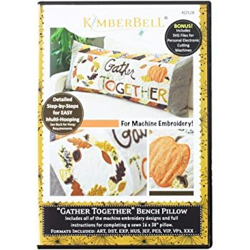 *GATHER TOGETHER BENCH PILLOW CD//MULTI-FORMATTED//KIMBERBELL