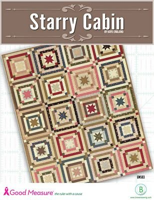 *STARRY CABIN QUILT PATTERN BOOK//GOOD MEASURE//KAYE ENGLAND