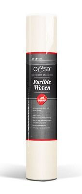 *FUSIBLE WOVEN LINING STABILIZER//CUT AWAY//WHITE//15 X 5 YARDS//OESD