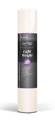 *LIGHTWEIGHT TEAR-AWAY STABILIZER//10 X 10YDS//WHITE//1.5 OZ//OESD