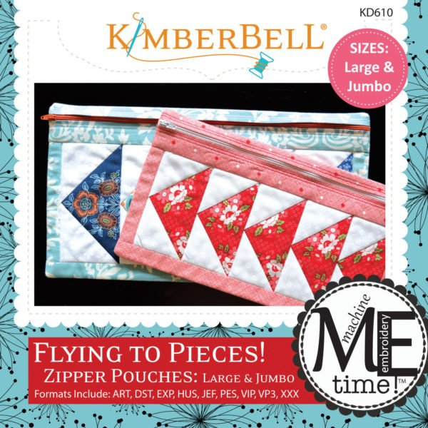*FLYING TO PIECES! ZIPPER POUCHES: LARGE & JUMBO//CD-MULTI FORMAT//KIMBERBELL