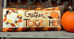 *GATHER TOGETHER BENCH PILLOW KIT//SIZE 16x38//KIMBERBELL