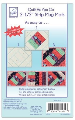 *PILLOW COVER FORMS//QUILT AS YOU GO//PRINTED BATTING//3 DESIGNS//JUNE TAILOR INC