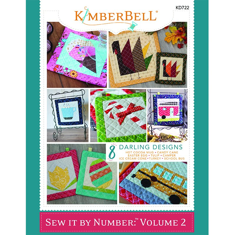 *SEW IT BY NUMBER: VOLUME 2 BOOK//SEW VERSION//8 DESIGNS//KIMBERBELL