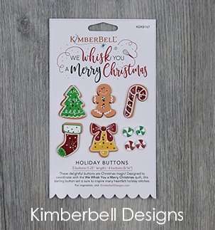 *WE WHISK YOU A MERRY CHRISTMAS BUTTONS//HOLIDAY BUTTONS//9 BUTTONS//KIMBERBELL