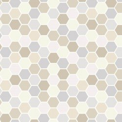 *MAKE YOURSELF AT HOME//MINI HEXAGONS//TAUPE GREY//KIMBERBELL//KIM CHRISTOPHERSON//MAYWOOD STUDIO