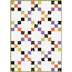 *BROOMHILDA'S BAKERY//IRISH CHAIN QUILT KIT//30x42//NO BACKING INCLUDED//KIMBERBELL//KIM CHRISTOPHERSON//MAYWOOD STUDIO