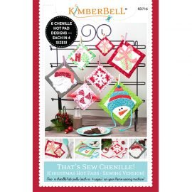 *THAT'S SEW CHENILLE//CHRISTMAS HOT PADS//SEWING VERSION//KIMBERBELL
