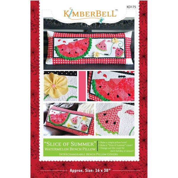 *SLICE OF SUMMER WATERMELON BENCH PILLOW FABRIC KIT//KIMBERBELL
