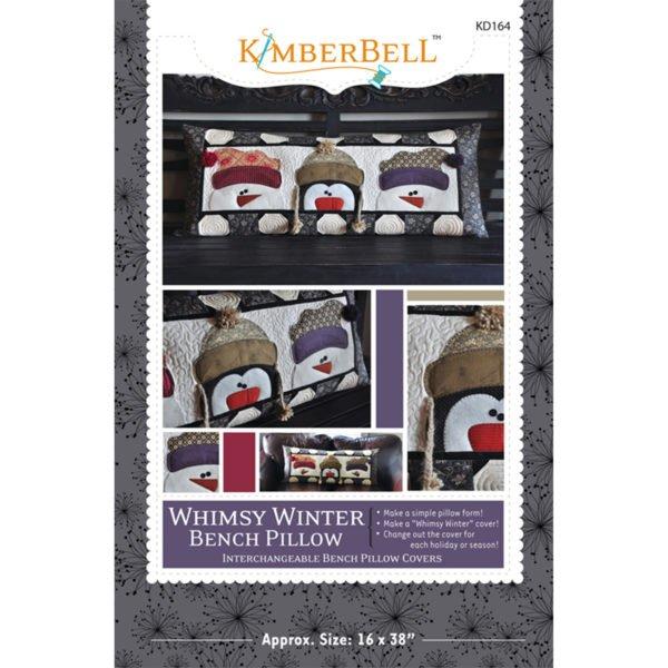 *WHIMSY WINTER BENCH PILLOW KIT//KIMBERBELL