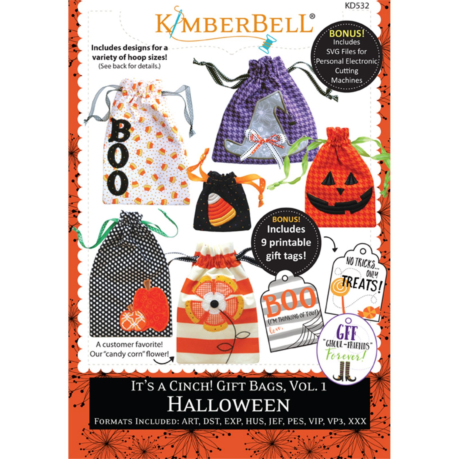 *IT'S A CINCH! GIFT BAGS, VOL 1:HALLOWEEN//CD-MULTI FORMAT//KIMBERBELL