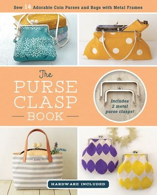 *THE PURSE CLASP BOOK//2 METAL PURSE CLASPS INCLUDED//ZAKKA WORKSHOP