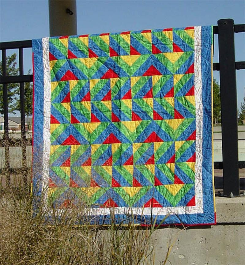 Pickup Sticks Quilt Pattern