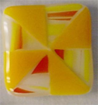 Pinwheel Quilt Block Pendant
