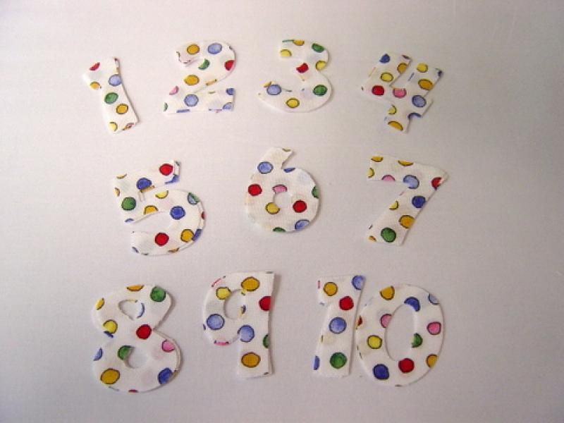 Numbers - White Background