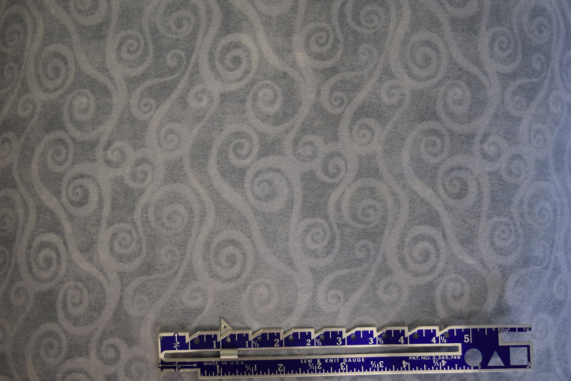 108 Backing - Flannel Grey Swirls
