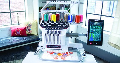 Brother Pro X PR1050X Multi Needle Embroidery Machine