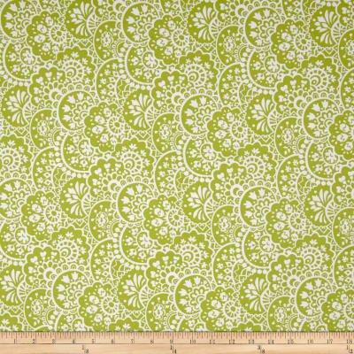 Bree Paisley Green Fabric 02133 40