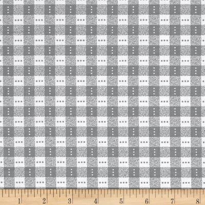 Bree Check Gray Fabric 02136 08