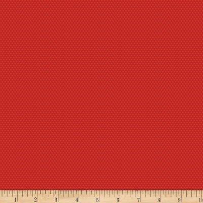 Bree Tiny Dot Red Fabric 02137 10