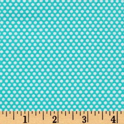 Bree Tiny Dot Aqua Fabric 02137 24