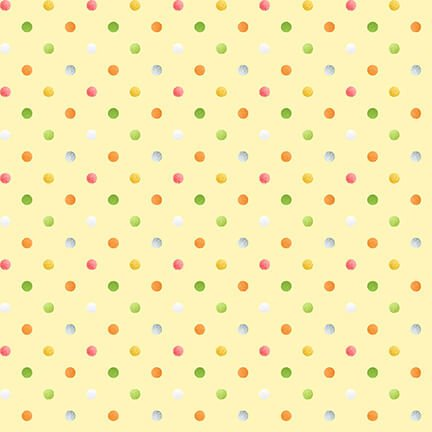 Sweet Tweet & Bunny Yellow Dot 2270-33