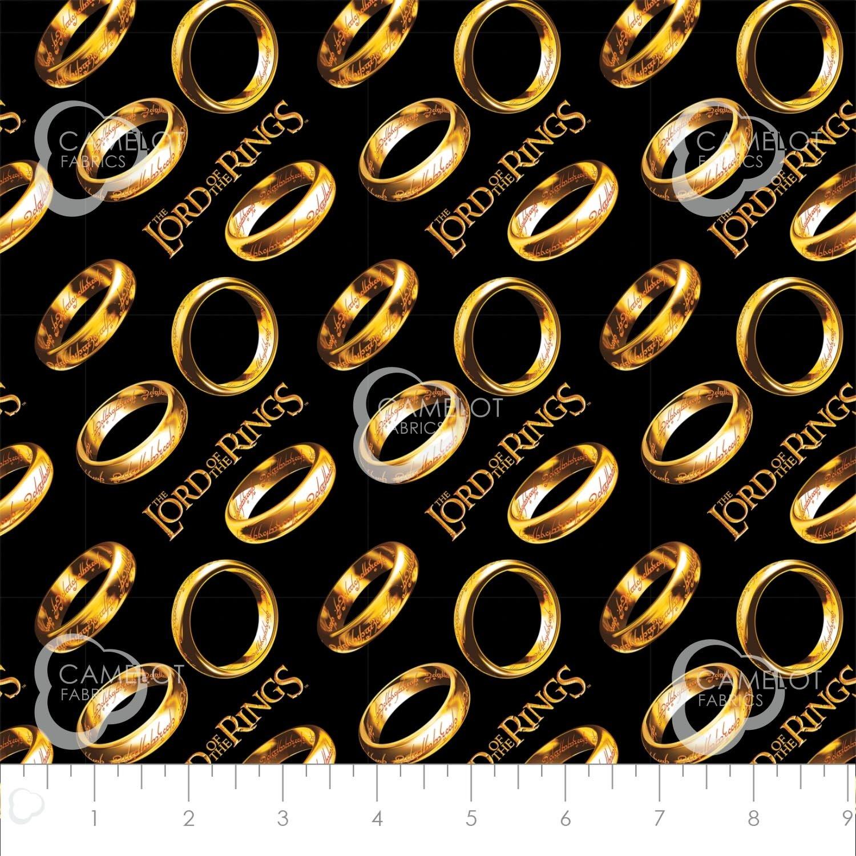 Lord of the Rings II- Rings Tossed in Black 23220206 01