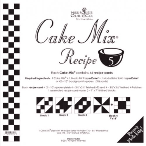 Cake Mix Recipe 5  by Miss Rosie's Co.