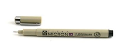 Micron Pen 03 .35mm Black