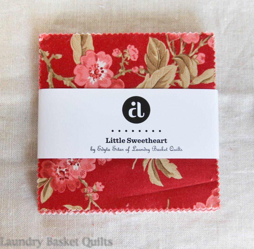 Little Sweetheart 5 x 5 charm pack