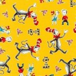 Dr Suess Cat in the Hat Yellow