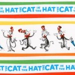Dr Suess Fabric- Cat in the Hat - Celebration Collection