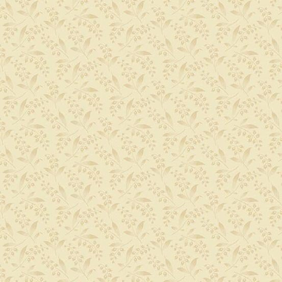 Bed of Roses  A-8991-L Lily of the Valley Cream