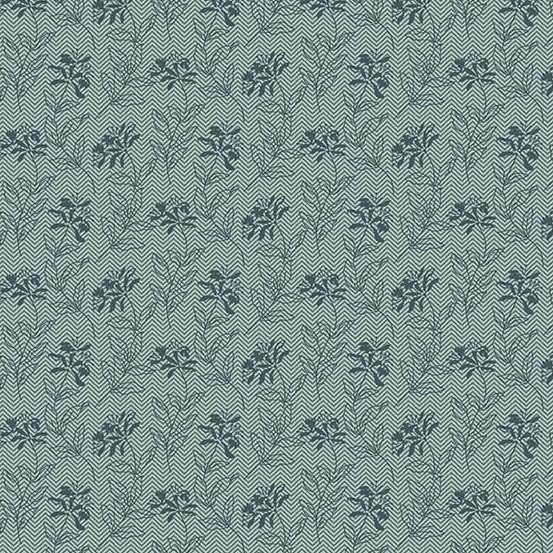 Bed of Roses  A-8990-T Sage Teal