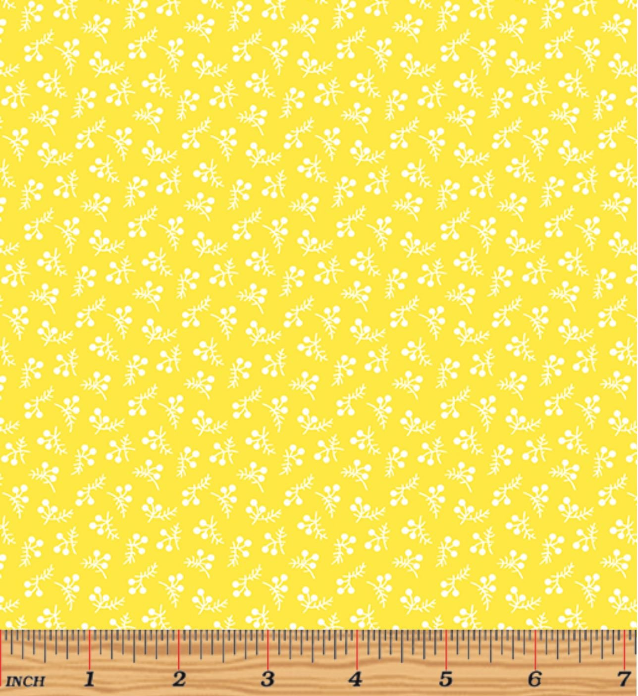 Bree 2135- 03 Berry Dot Yellow