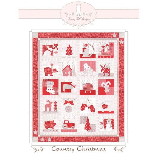 Country Christmas Kit by Bunny Hill Designs