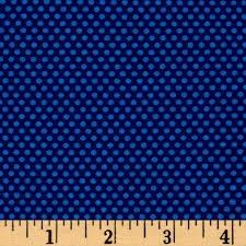 Bree Tiny Dot Blue Fabric 02137 50