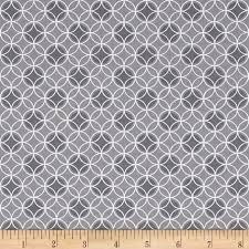 Bree Dot Circle Gray Fabric 01234 08