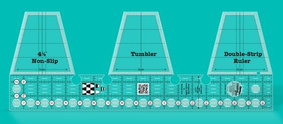 Creative Grids Tumbler Double Strip Ruler