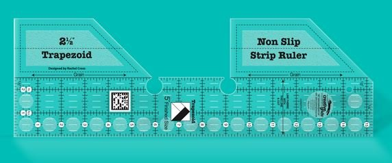 Creative Grids Trapezoid Strip Ruler 15 1/4in x 5in