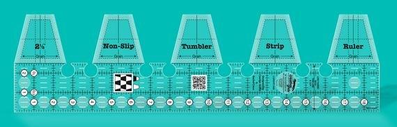Creative Grids Single Strip Tumbler Ruler