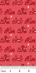 Christmas Pure and Simple 4387-10 Bethlehem Red