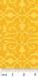 Christmas Pure & Simple 4386-30 Brocade Gold