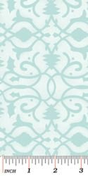 Christmas Pure & Simple 4386-26 Brocade Seafoam