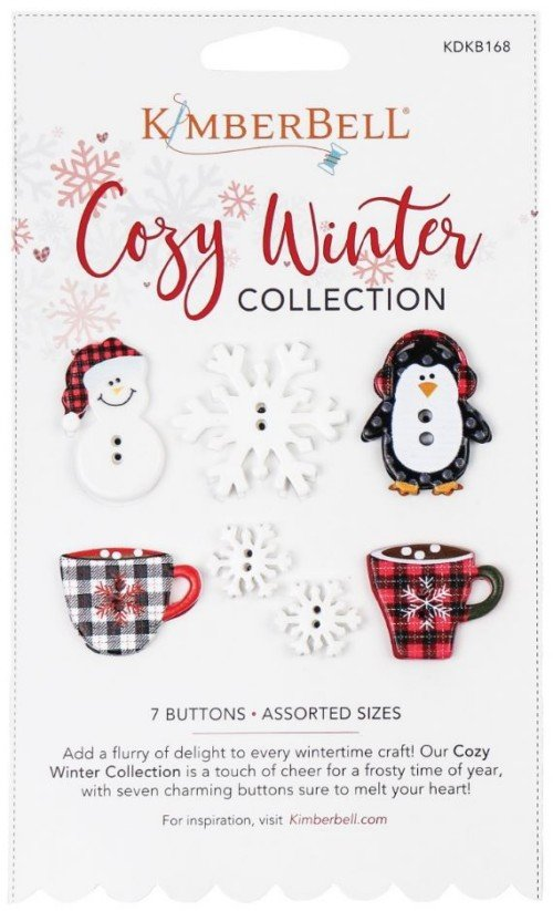 Kimberbell Cozy Winter Buttons KDK 168