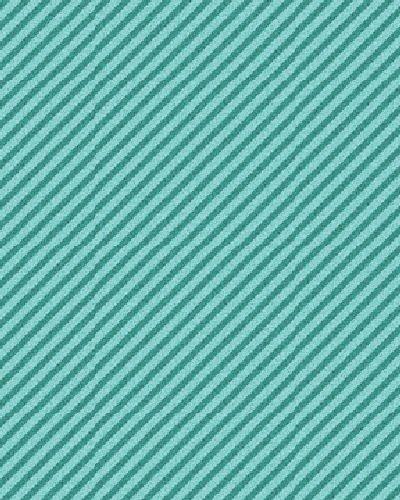 Curiosities 2873-84 Diagonal Stripe Aquamarine